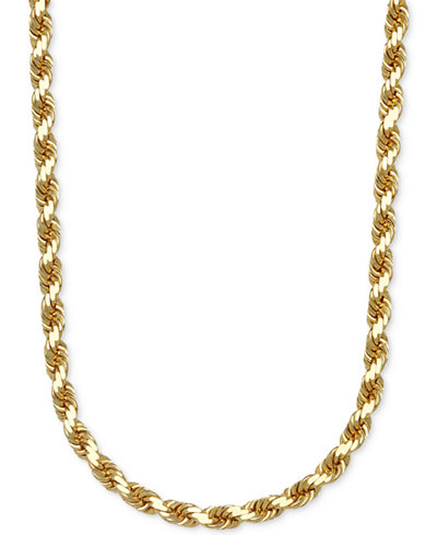 3-1/3mm Rope Chain 24