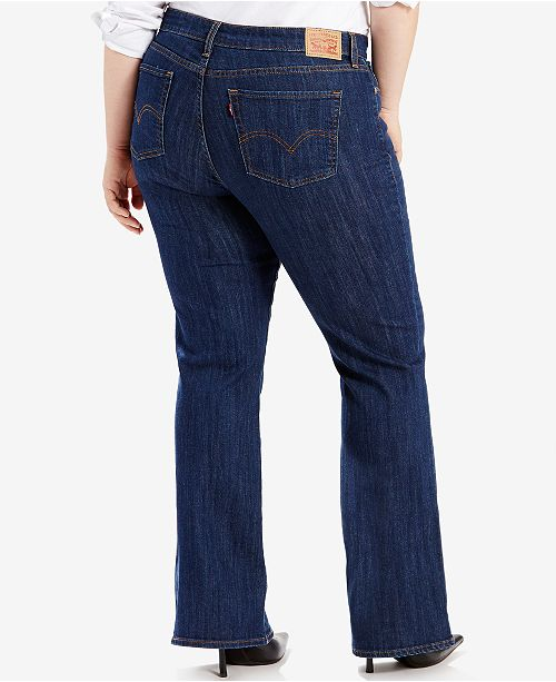 d9d59e2b0ec Levi s Plus Size Classic Bootcut Jeans   Reviews - Jeans - Plus ...