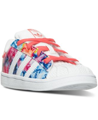 ... adidas Toddler Girls  Superstar Casual Sneakers from Finish Line -  Finish Line Athletic Shoes ... 25526f293