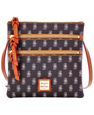 Seattle Mariners Triple Zip Crossbody Bag