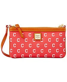 Dooney & Bourke Cleveland Indians Large Slim Wristlet
