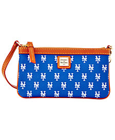 Dooney & Bourke New York Mets Large Slim Wristlet