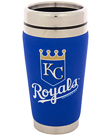 Hunter Manufacturing Kansas City Royals 16 oz. Stainless Steel Travel Tumbler