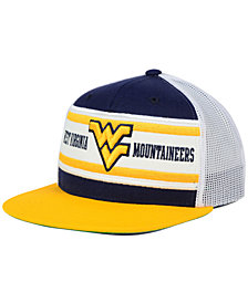 Zephyr West Virginia Mountaineers Superstripe Snapback Cap