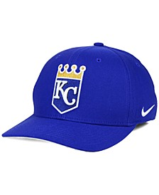 Kansas City Royals Ligature Swoosh Flex Cap