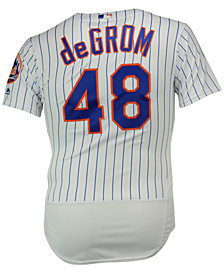 Majestic Men's Jacob deGrom New York Mets Flexbase On-Field Jersey