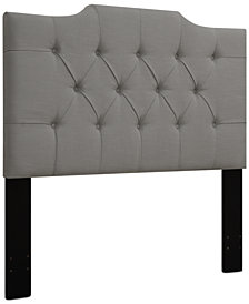 Leila King/California King Tufted Headboard, Quick Ship