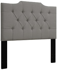 Leila Full/Queen Tufted Headboard, Quick Ship