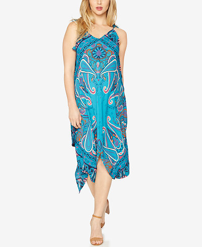 A Pea In The Pod Maternity Printed Dress