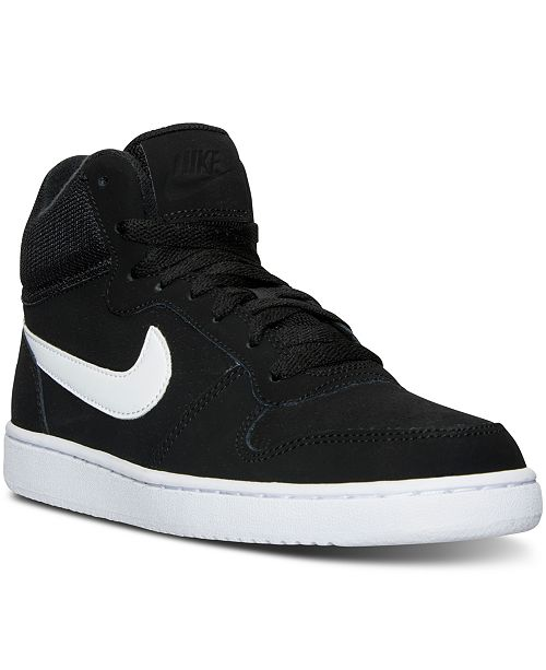 newest 9207f 9b230 ... Nike Womens Recreation Mid-Top Casual Sneakers from Finish ...