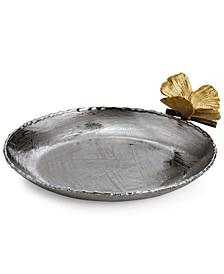Butterfly Ginkgo Trinket Tray