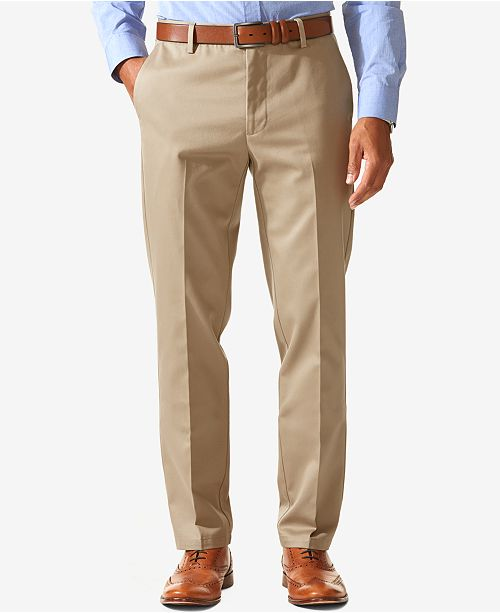 de98550891 Dockers Men s Signature Slim Tapered Fit Stretch Pants   Reviews ...