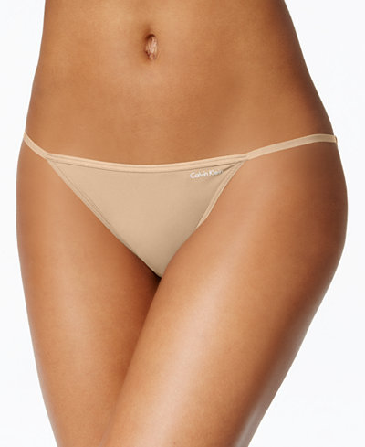 Calvin Klein Sleek String Bikini D3510
