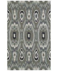 "Macy's Fine Rug Gallery  Aloft AL9 Silver 3'6""x5'6"" Area Rug"
