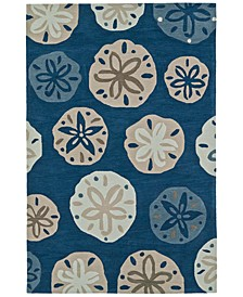"Seaside SE11 3'6""X5'6"" Area Rug"