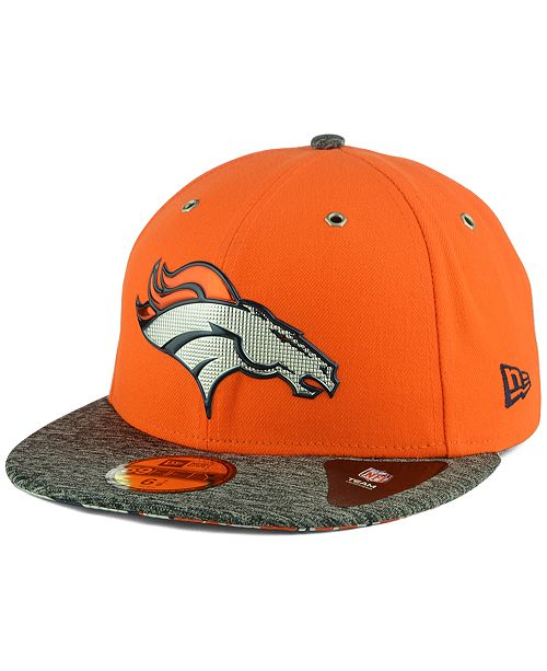 New Era Denver Broncos 2016 NFL Draft On Stage 59FIFTY Fitted Cap ... 409d88820