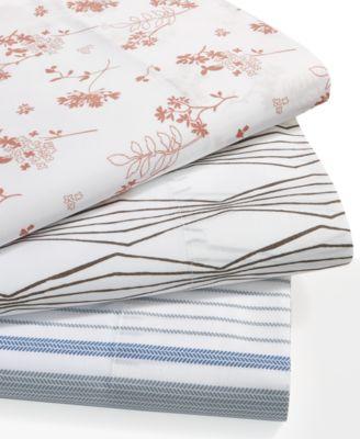 printed queen sheet sets