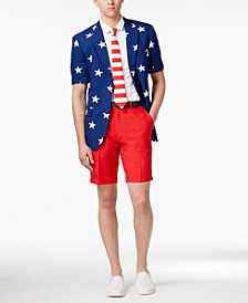 Men's Summer Stars and Stripes Americana Suit