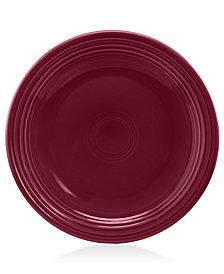 "Fiesta Claret 9"" Luncheon Plate"