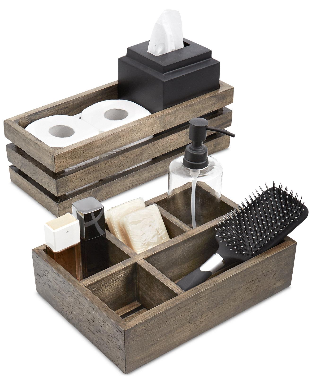 Fine bathroom accessories - Paradigm Driftwood Bath Accessories