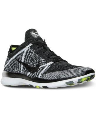 Nike Women\u0026#39;s Free TR Flyknit Training Sneakers from Finish Line