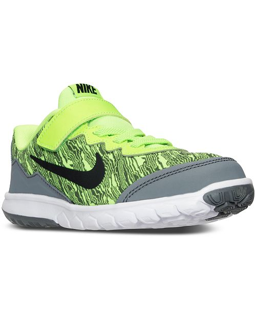 b5d1ead516316 ... Nike Little Boys  Flex Experience 4 Print Running Sneakers from Finish  ...