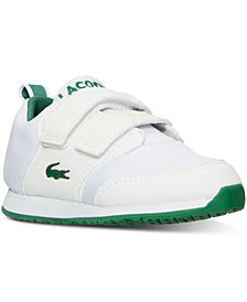 Lacoste Toddler Boys' Light Casual Sneakers from Finish Line