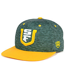 Top of the World University of San Francisco Dons Energy 2-Tone Snapback Cap