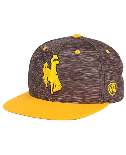 Top of the World Wyoming Cowboys Energy 2-Tone Snapback Cap