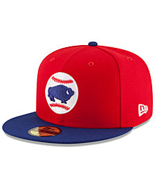 New Era Buffalo Bisons AC 59FIFTY Fitted Cap