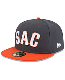 Sacramento River Cats AC 59FIFTY Fitted Cap