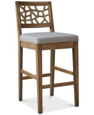 Crackle Bar Stool, Quick Ship