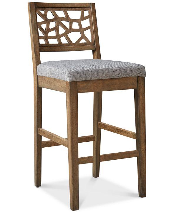 Furniture Cabot Bar Stool & Reviews   Furniture   Macy's