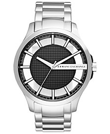 A|X Armani Exchange Men's Stainless Steel Bracelet Watch 46mm AX2179