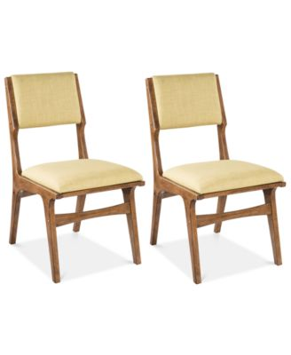 Set of 2 Rocket Dining Chairs, Quick Ship