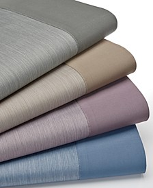 CLOSEOUT! Reversible 4-pc Sheet Sets, 550 Thread Count, Created for Macy's