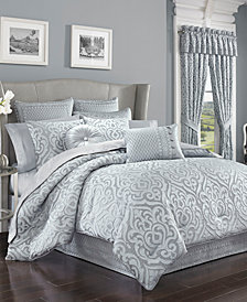 CLOSEOUT! J Queen New York Harrison Chrome Bedding Collection