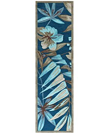 """Coral Tropica 2'3"""" x 7'6"""" Runner Rug"""