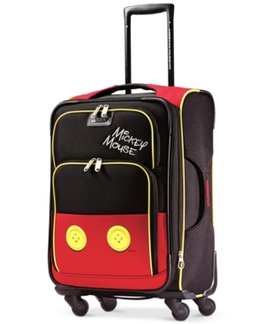 Disney Mickey Mouse Pants 21 Spinner Suitcase by American Tourister