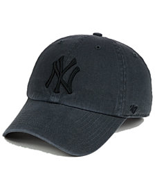 '47 Brand New York Yankees Charcoal Clean Up Cap