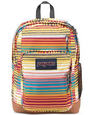 Jansport Cool Student Backpack in Multi Sunset Stripe