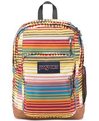 Jansport Cool Student Backpack in Multi Sunset Stripe - Backpacks ...