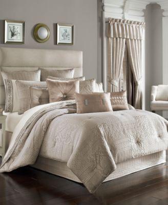 Wilmington Alabaster Queen 4-Pc. Comforter Set