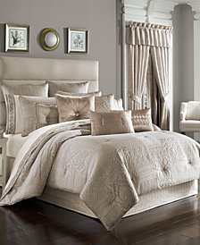 J Queen New York Wilmington Alabaster Queen 4-Pc. Comforter Set