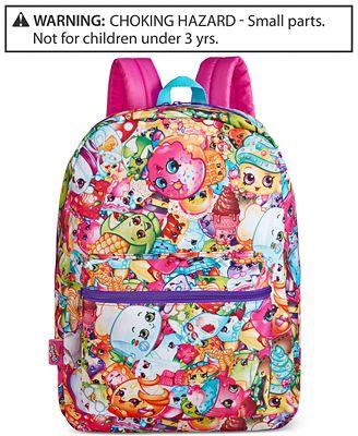 Shopkins Little Girls' or Toddler Girls' Backpack