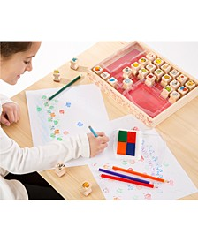 Melissa & Doug Kids' Favorite Things Wooden Stamp Set