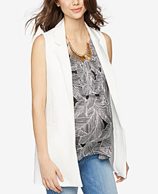 A Pea In The Pod Maternity Open-Front Vest