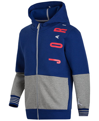 Jordan Boys Free Extended Hoodie Sweaters Kids Amp Baby
