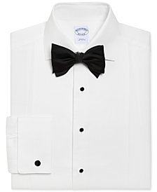 Brooks Brothers Men's Regent Slim Fit Bib-Front Tuxedo Shirt