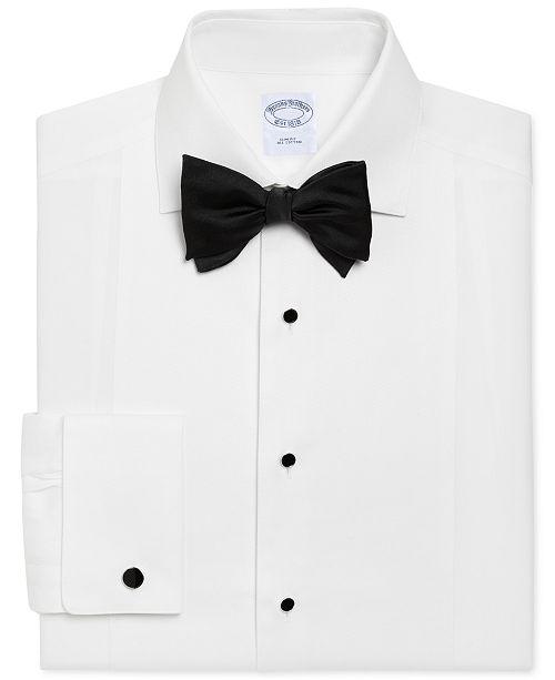 Brooks Brothers Men's Regent Slim Fit Bib-Front Tuxedo Shirt